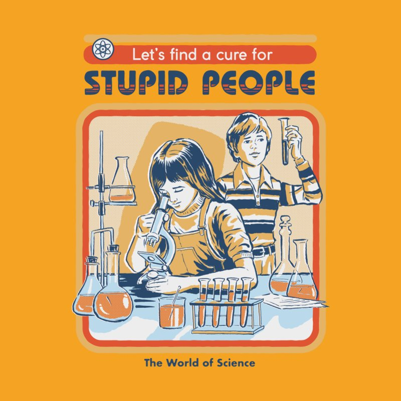 A Cure for Stupid People Accessories Mug by Threadless Artist Shop