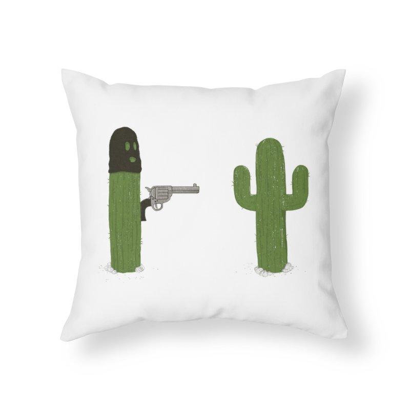 Stick'em Up Home Throw Pillow by Threadless Artist Shop