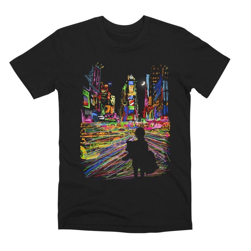 The City That Never Sleeps Men's T-Shirt by Threadless Artist Shop
