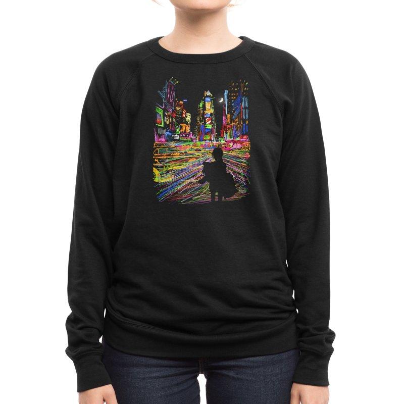 The City That Never Sleeps Women's Sweatshirt by Threadless Artist Shop