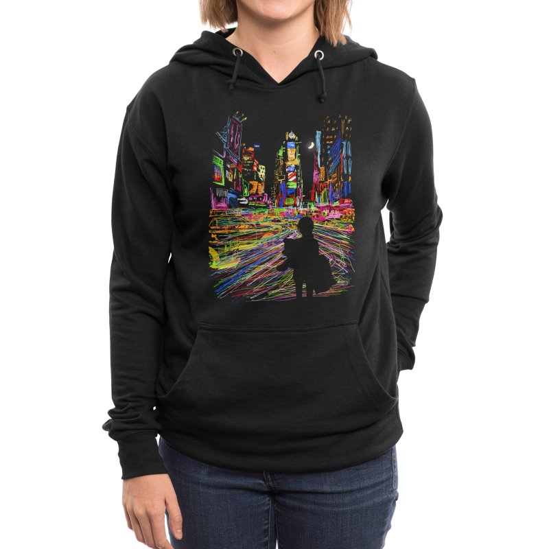 The City That Never Sleeps Women's Pullover Hoody by Threadless Artist Shop