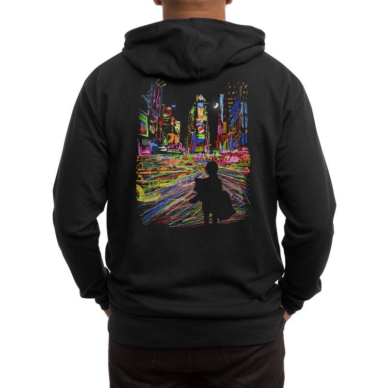 The City That Never Sleeps Men's Zip-Up Hoody by Threadless Artist Shop