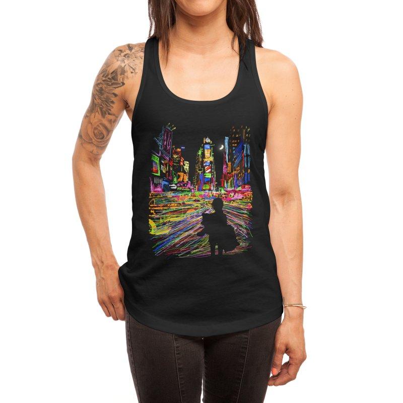 The City That Never Sleeps Women's Tank by Threadless Artist Shop