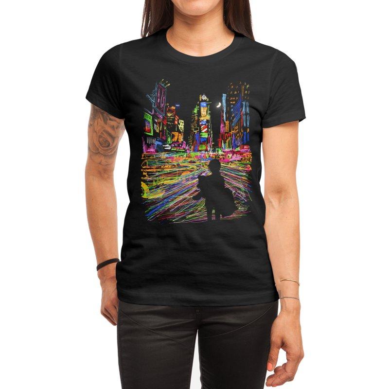 The City That Never Sleeps Women's T-Shirt by Threadless Artist Shop
