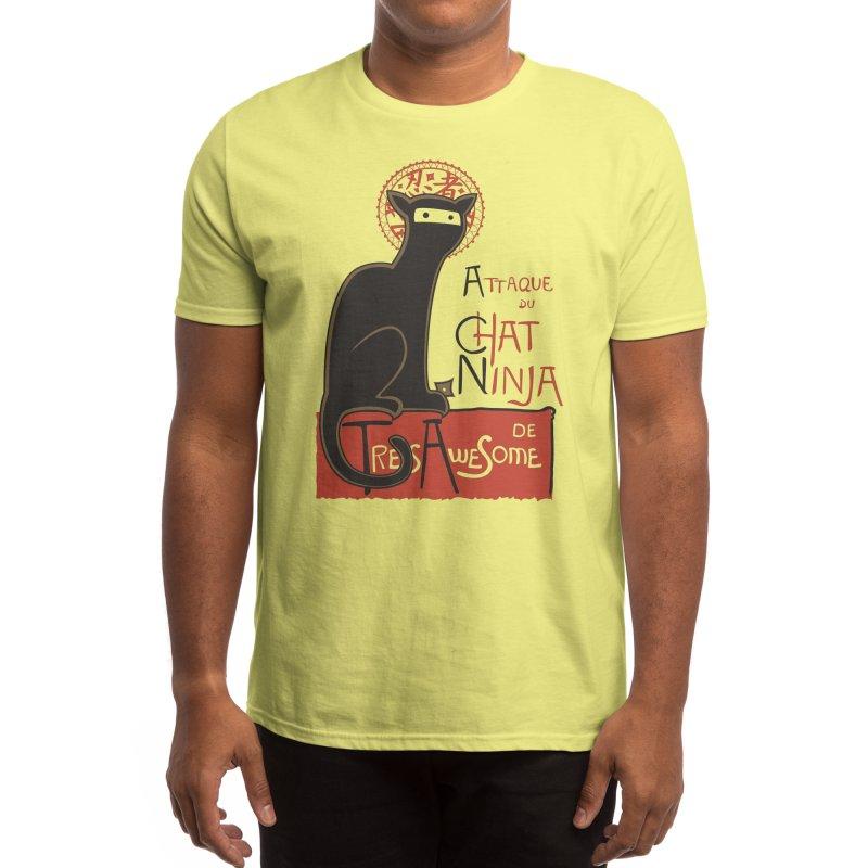 A French Ninja Cat! Men's T-Shirt by Threadless Artist Shop