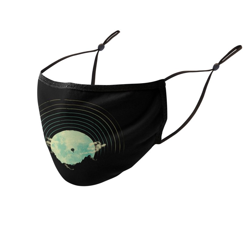 Soundtrack to a Peaceful Night Accessories Face Mask by Threadless Artist Shop
