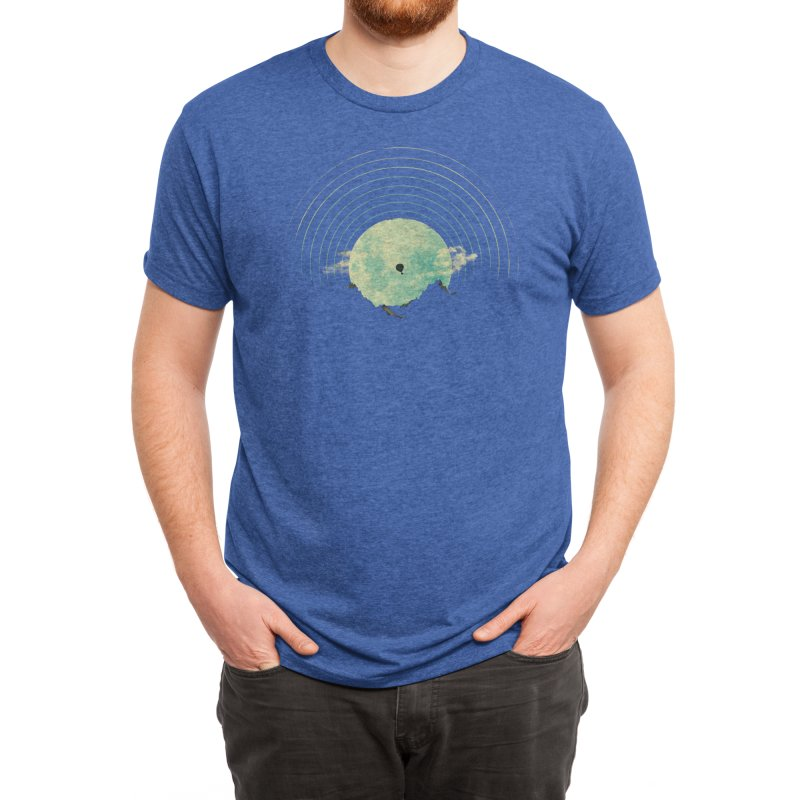 Soundtrack to a Peaceful Night Men's T-Shirt by Threadless Artist Shop