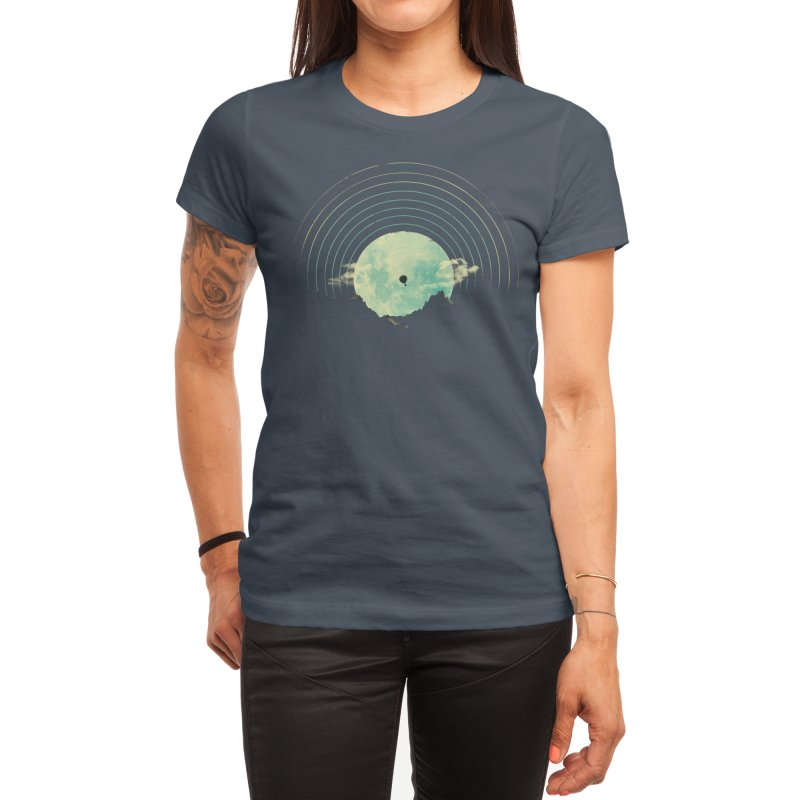 Soundtrack to a Peaceful Night Women's T-Shirt by Threadless Artist Shop