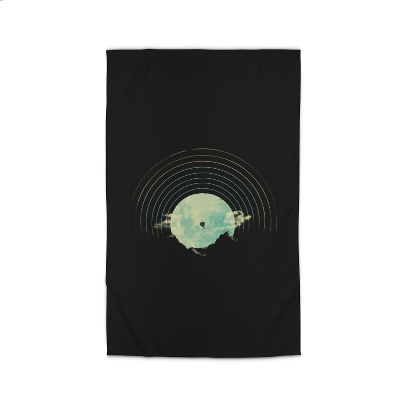 Soundtrack to a Peaceful Night Home Rug by Threadless Artist Shop