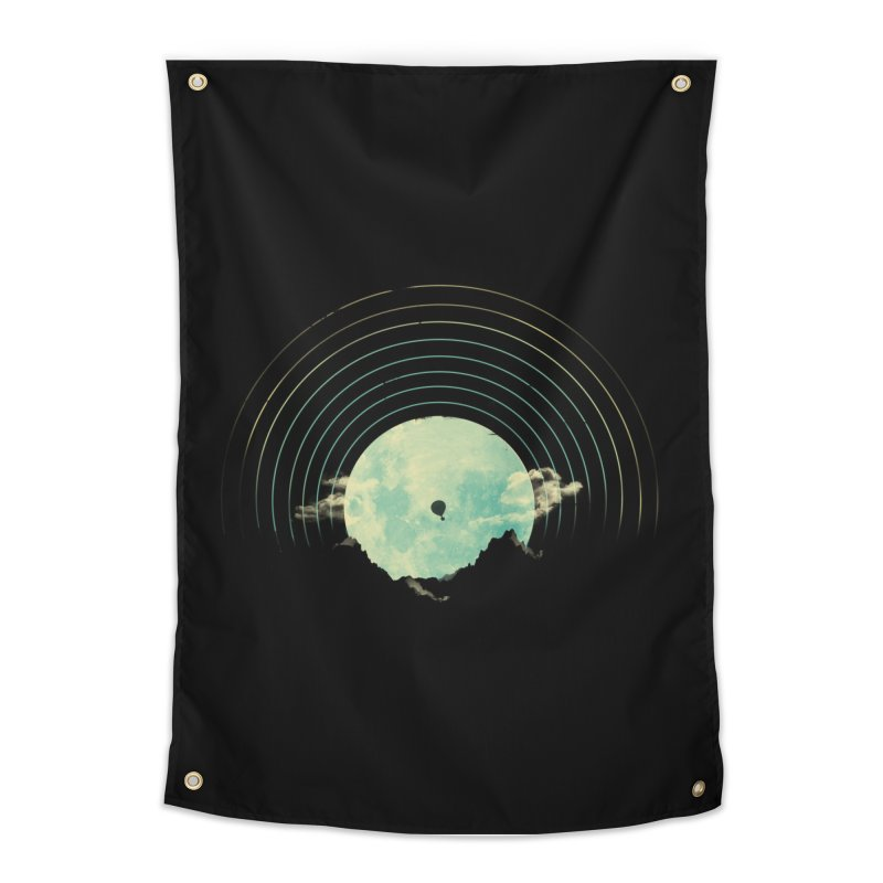 Soundtrack to a Peaceful Night Home Tapestry by Threadless Artist Shop