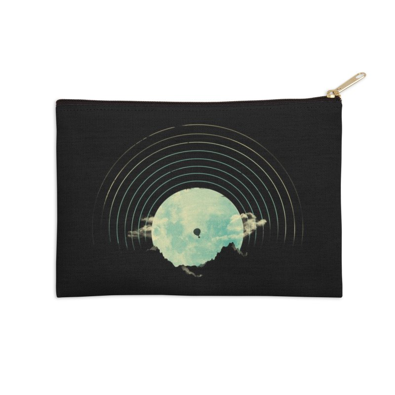 Soundtrack to a Peaceful Night Accessories Zip Pouch by Threadless Artist Shop