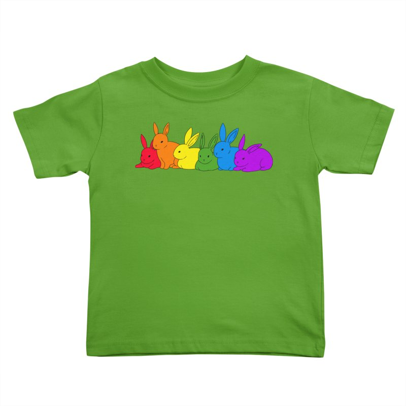 love is for everybunny Kids Toddler T-Shirt by Threadless Artist Shop