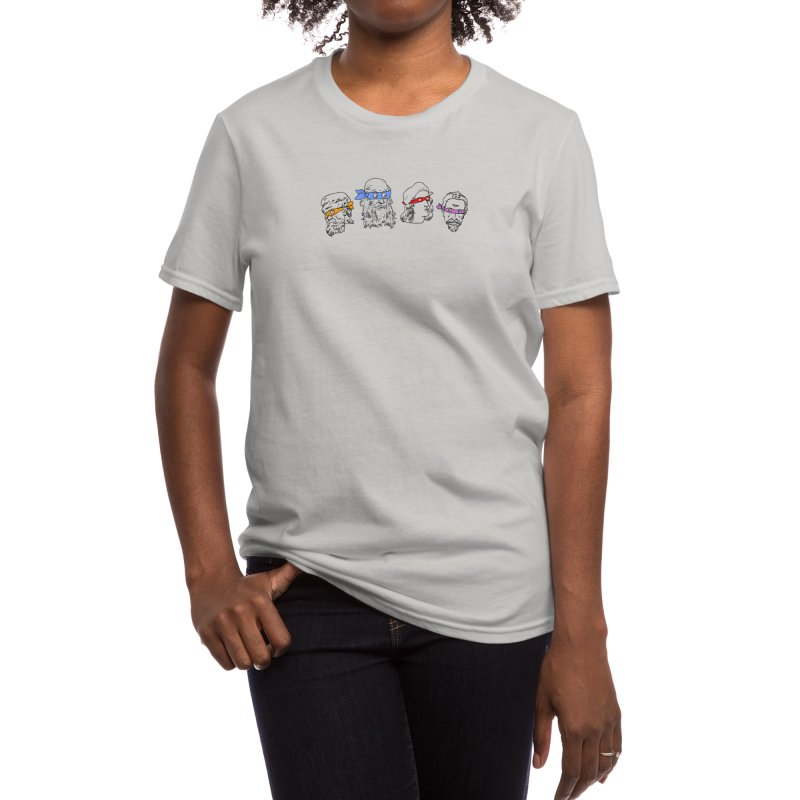 Heroes In An Art Shell Women's T-Shirt by Threadless Artist Shop