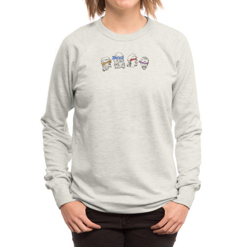Heroes In An Art Shell Women's Sweatshirt by Threadless Artist Shop