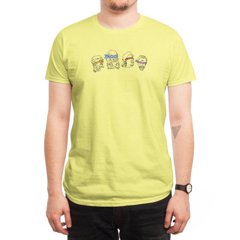 Heroes In An Art Shell Men's T-Shirt by Threadless Artist Shop