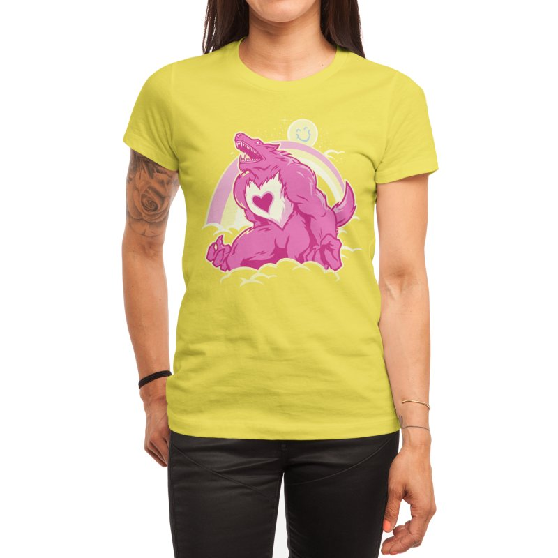The Curse of the Care Were! Women's T-Shirt by Threadless Artist Shop