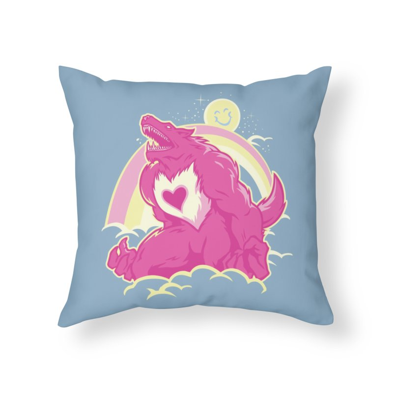The Curse of the Care Were! Home Throw Pillow by Threadless Artist Shop