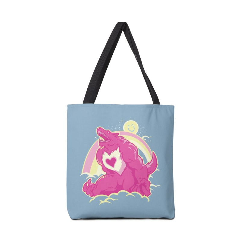 The Curse of the Care Were! Accessories Bag by Threadless Artist Shop