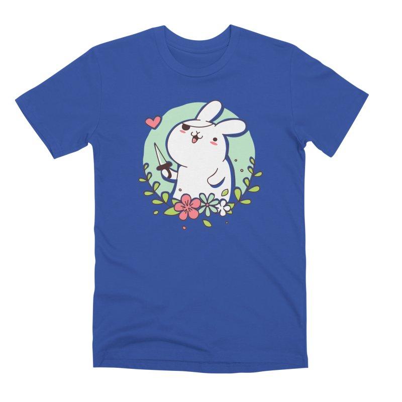 Badass Rabbit Men's T-Shirt by Threadless Artist Shop