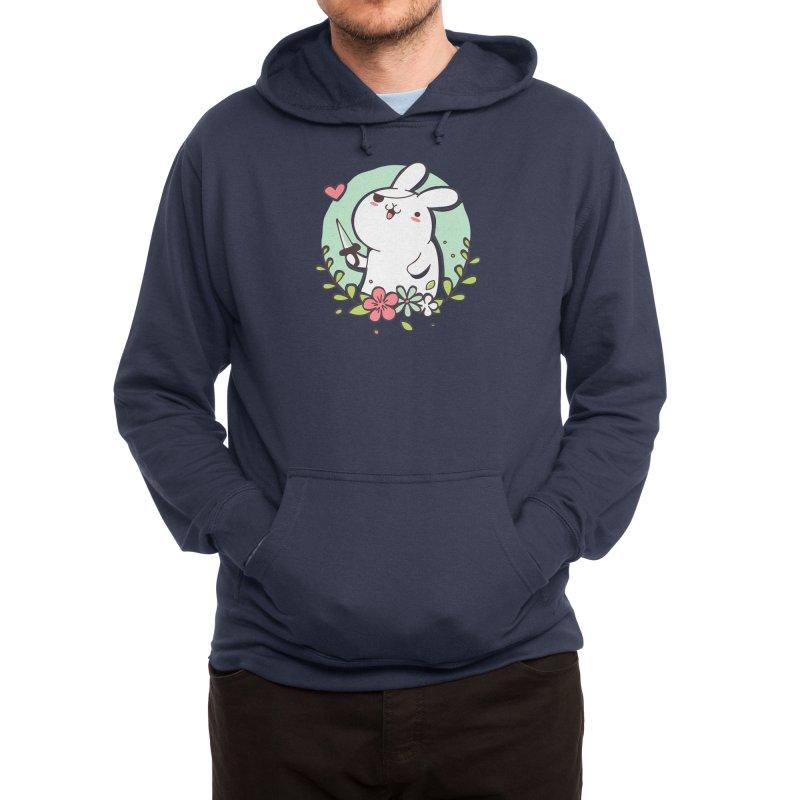 Badass Rabbit Men's Pullover Hoody by Threadless Artist Shop
