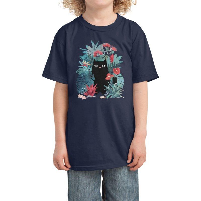 Popoki Kids T-Shirt by Threadless Artist Shop