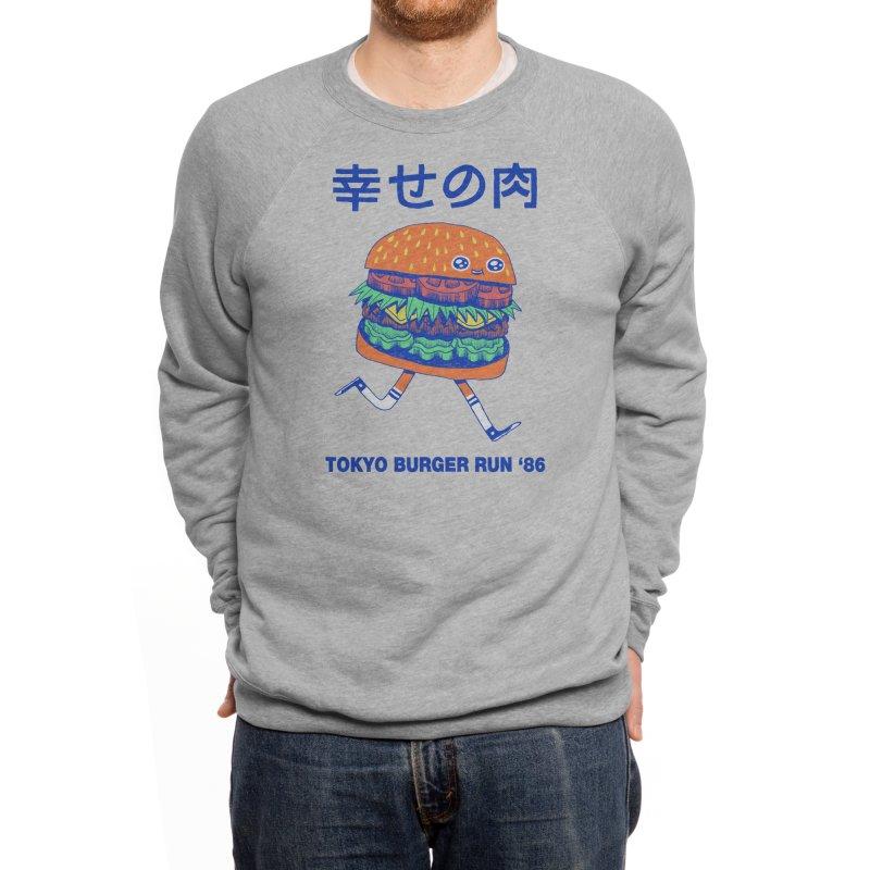 Burgerman Men's Sweatshirt by Threadless Artist Shop