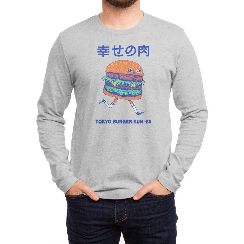 Burgerman Men's Longsleeve T-Shirt by Threadless Artist Shop
