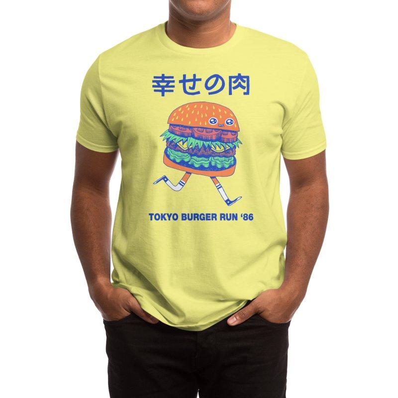 Burgerman Men's T-Shirt by Threadless Artist Shop