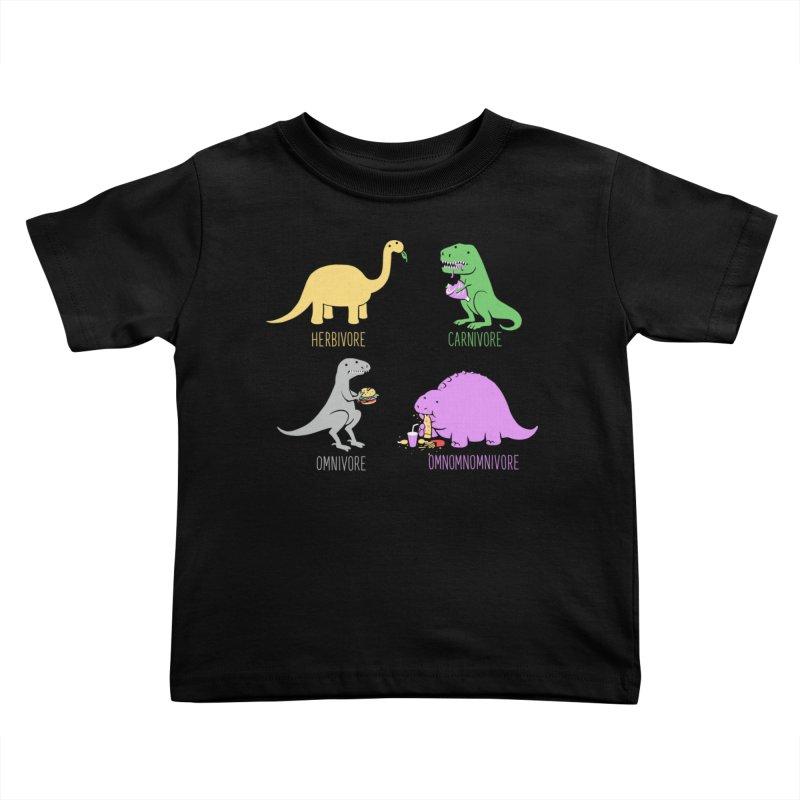 Omnomnomnivore Kids Toddler T-Shirt by Threadless Artist Shop