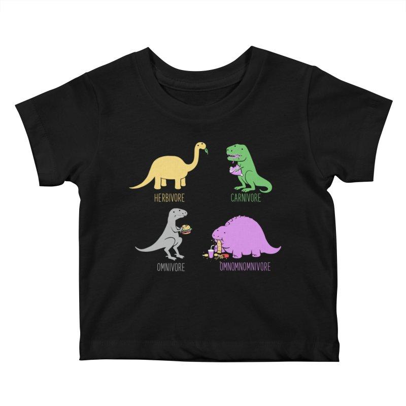 Omnomnomnivore Kids Baby T-Shirt by Threadless Artist Shop