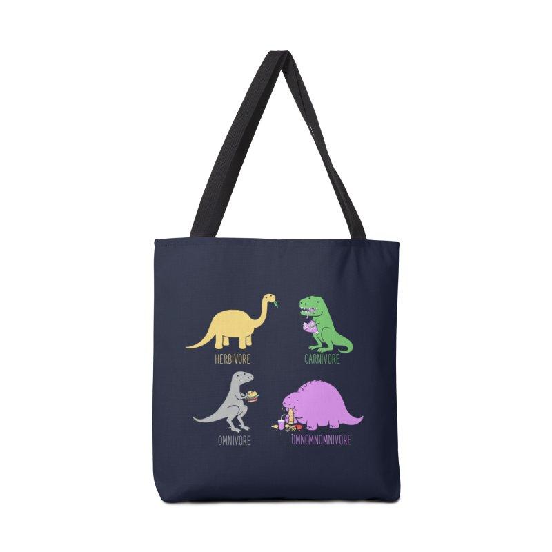 Omnomnomnivore Accessories Bag by Threadless Artist Shop