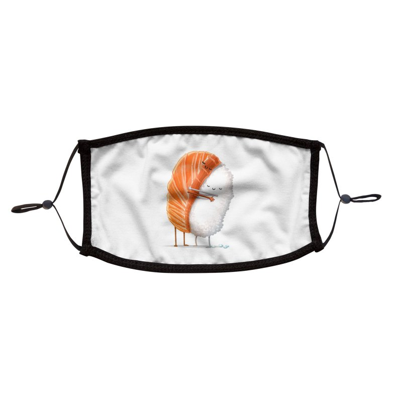 Sushi Hug Accessories Face Mask by Threadless Artist Shop