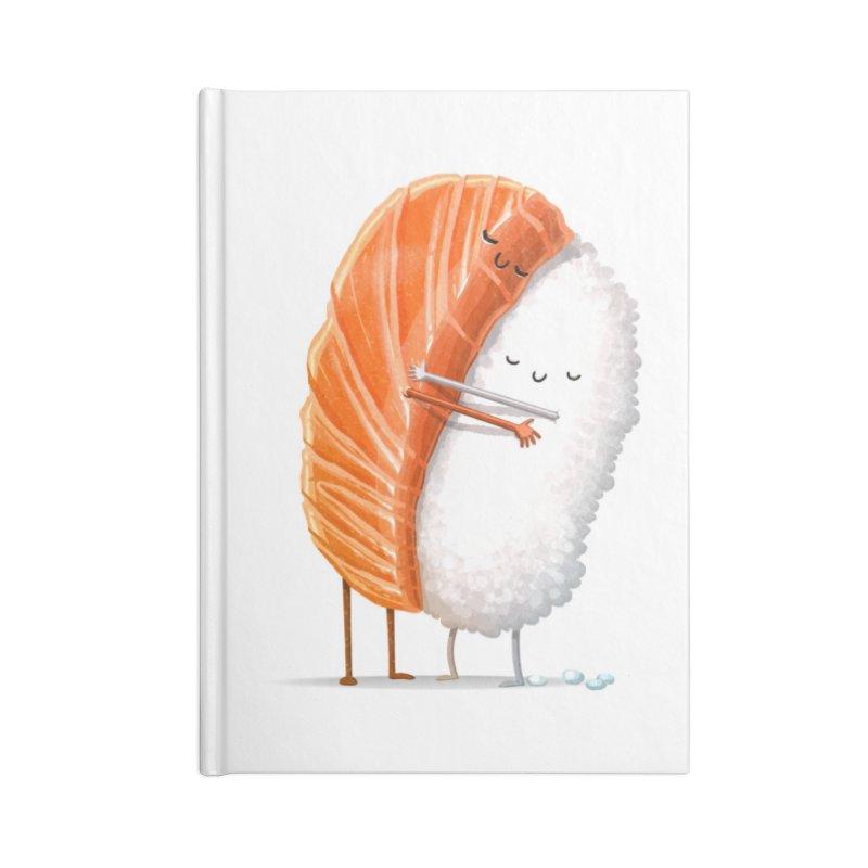 Sushi Hug Accessories Notebook by Threadless Artist Shop