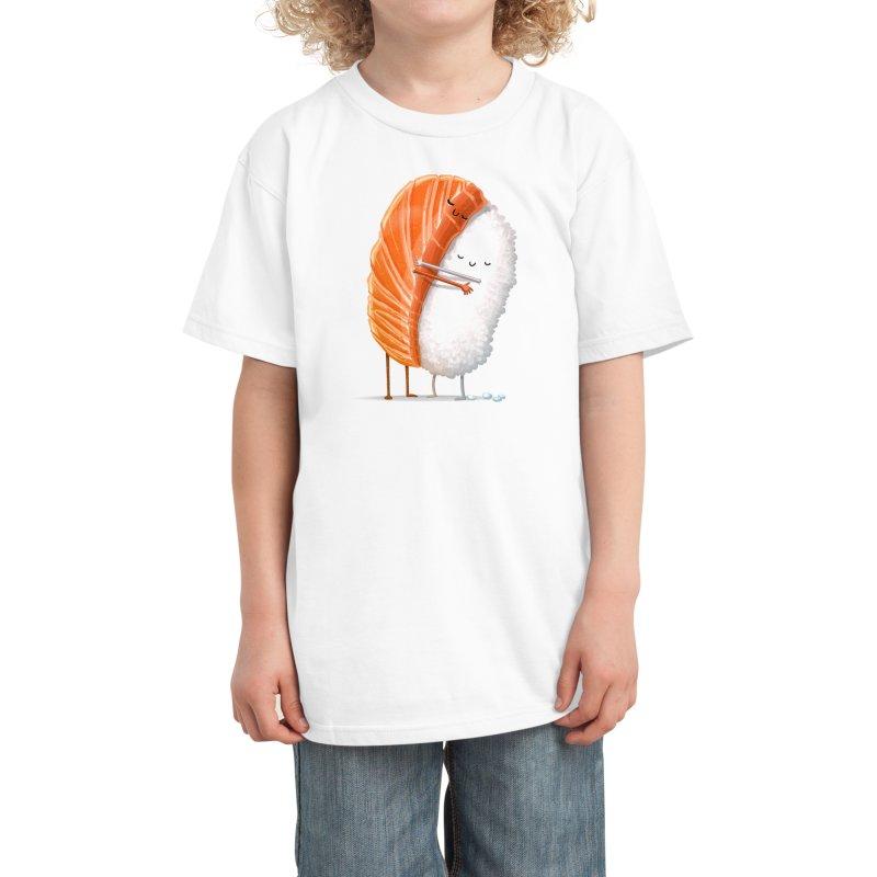 Sushi Hug Kids T-Shirt by Threadless Artist Shop