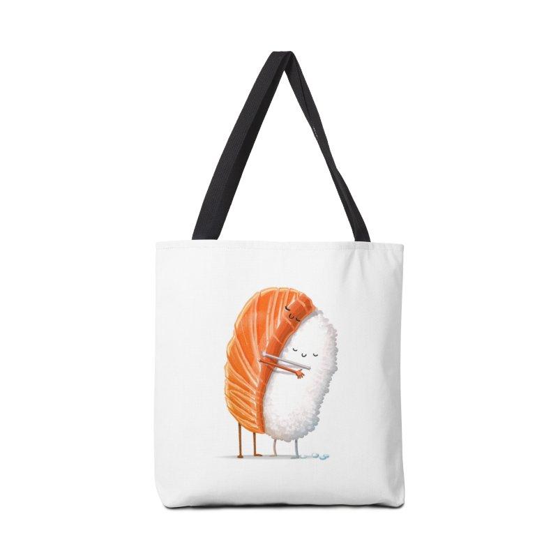 Sushi Hug Accessories Bag by Threadless Artist Shop