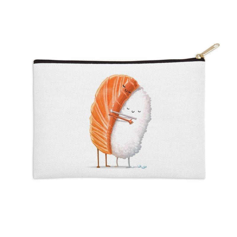 Sushi Hug Accessories Zip Pouch by Threadless Artist Shop