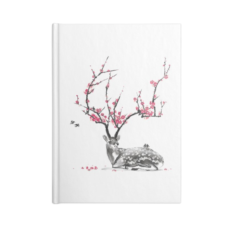 Blooming Accessories Notebook by Threadless Artist Shop
