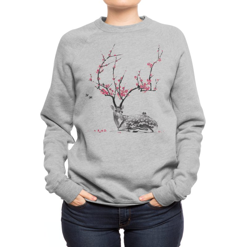 Blooming Women's Sweatshirt by Threadless Artist Shop