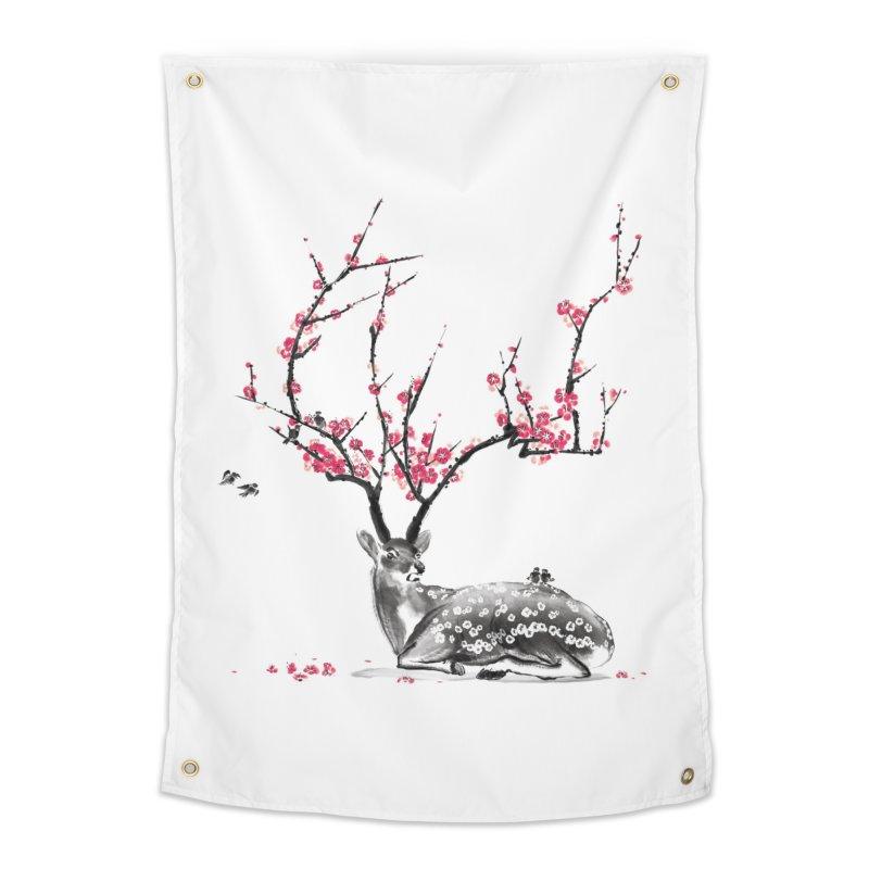 Blooming Home Tapestry by Threadless Artist Shop