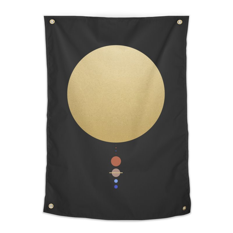 Solar System - aparaat Home Tapestry by Threadless Artist Shop