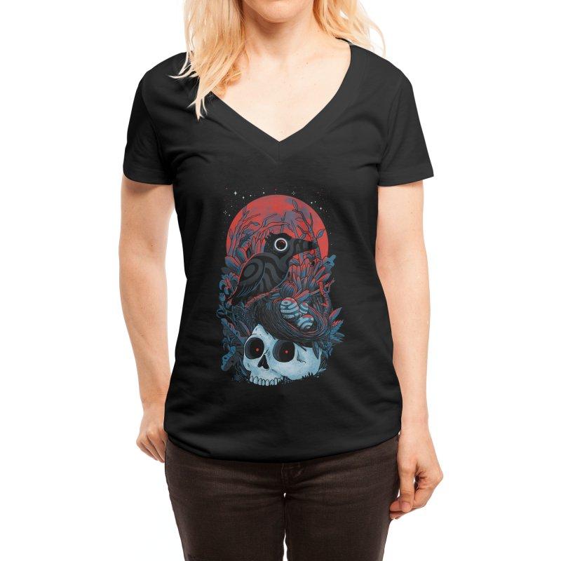 rebirth - madkobra Women's V-Neck by Threadless Artist Shop
