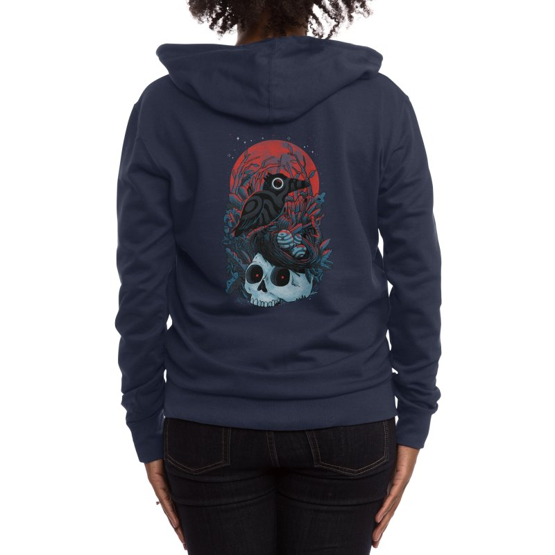 rebirth - madkobra Women's Zip-Up Hoody by Threadless Artist Shop