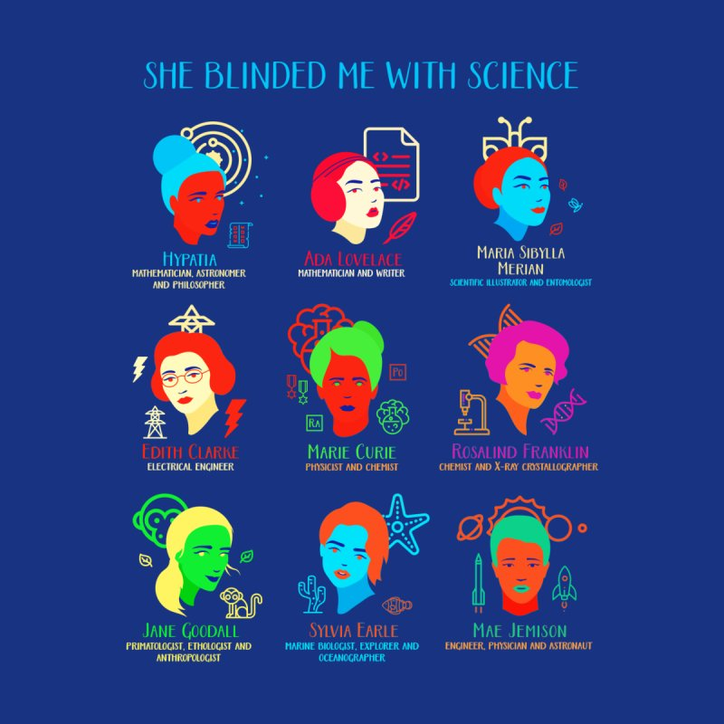 She Blinded Me with Science Home Mounted Acrylic Print by Threadless Artist Shop