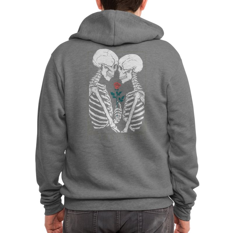 VI The Lovers Men's Zip-Up Hoody by Threadless Artist Shop
