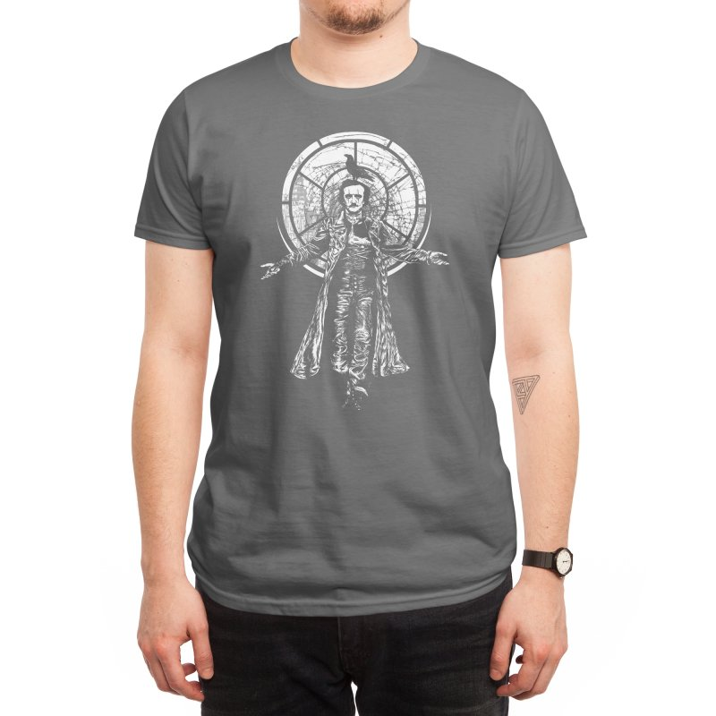 Edgar Allan Crow Men's T-Shirt by Threadless Artist Shop