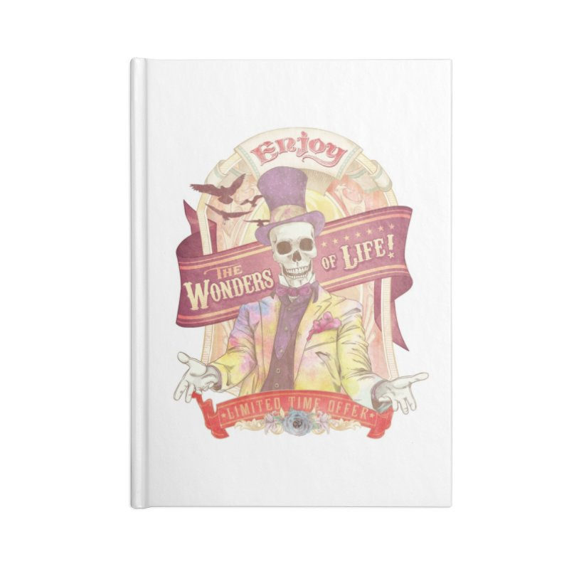 The Greatest Spectacle Ever! Accessories Notebook by Threadless Artist Shop
