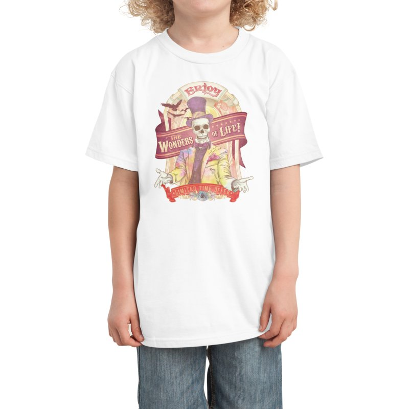 The Greatest Spectacle Ever! Kids T-Shirt by Threadless Artist Shop