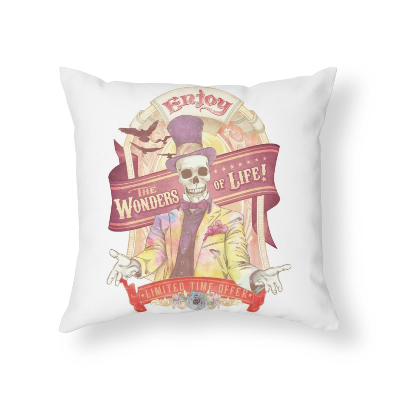 The Greatest Spectacle Ever! Home Throw Pillow by Threadless Artist Shop