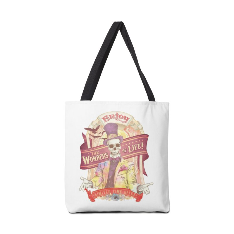 The Greatest Spectacle Ever! Accessories Bag by Threadless Artist Shop