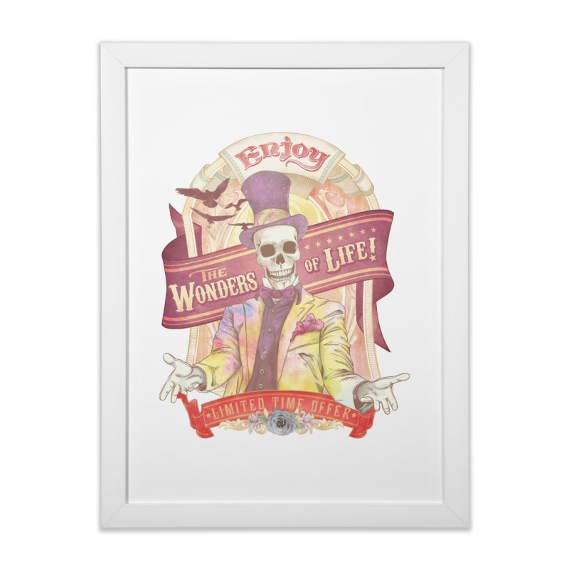 The Greatest Spectacle Ever! Home Framed Fine Art Print by Threadless Artist Shop
